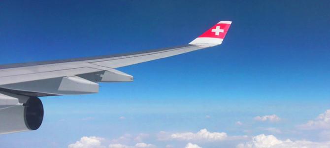 スイス航空(Swissair)でスイスへ