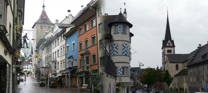 シャフハウゼン(Schaffhausen)の街