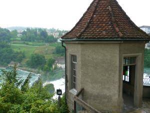 ライン滝_城からの眺め