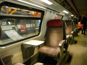 ICN列車内シート