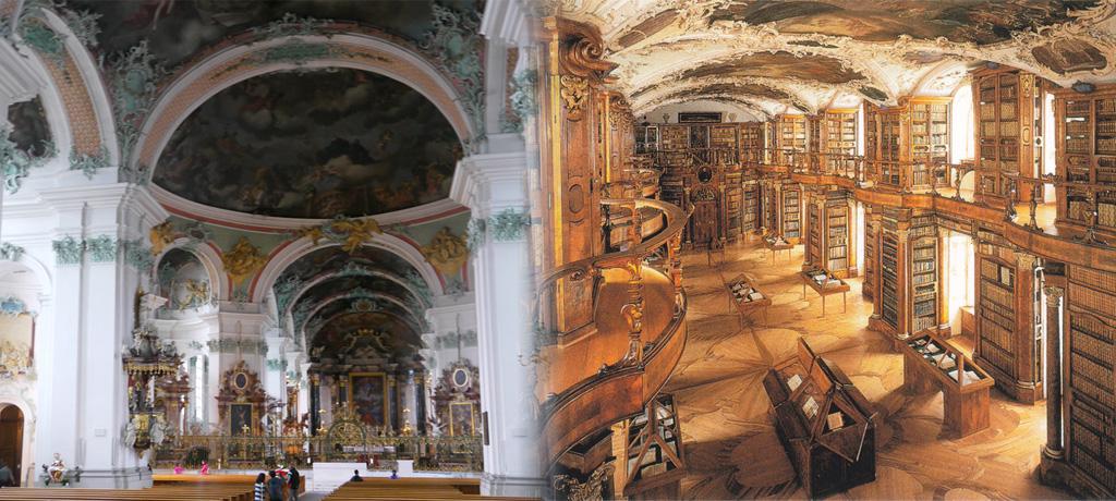 ザンクト・ガレン大聖堂・修道院図書館