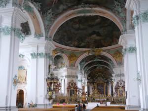 ザンクト・ガレン大聖堂内部正面