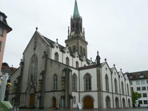 ザンクト・ガレンの教会外観