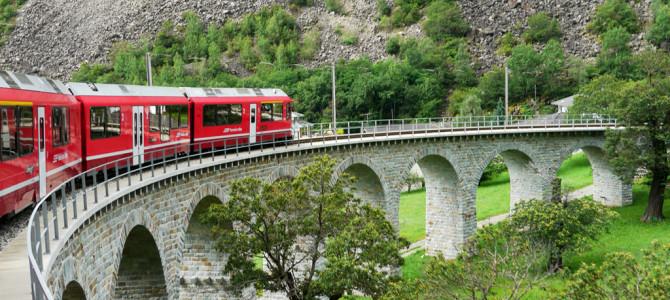 ベルニナ急行(Bernina Express) 世界遺産路線