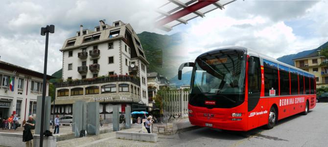イタリアのティラーノ(Tirano)と戻り道