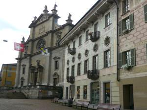 べリンツオーナの教会
