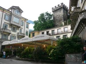 ベリンツォーナのホテル外観