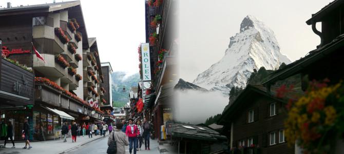 マッターホルン山麓ツェルマット(Zermatt)