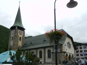 ツェルマットの教会