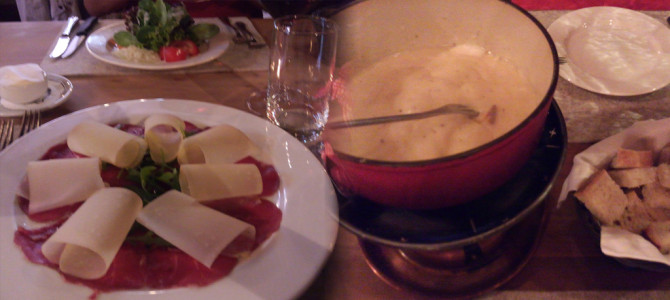 絶品のラムとチーズ料理(Schaeferstube)