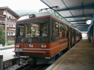 ゴルナグラード鉄道出発