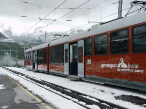 ゴルナグラード駅到着