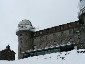 ゴルナーグラード展望台と教会