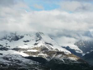 ゴルナーグラートからのマッターホルンの山裾
