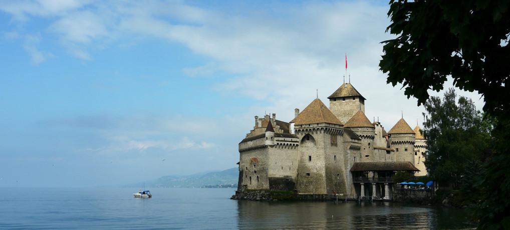 レマン湖畔シヨン城(Château de Chillon)