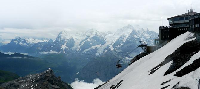 360°山並眺望シルトホルン(Schilthorn)
