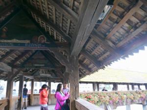 カペル橋屋根天井