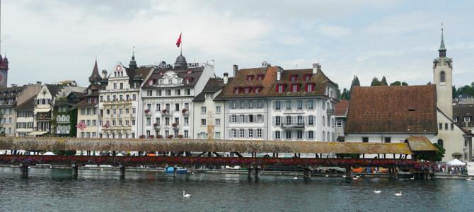 ルツェルン(Luzern)の街