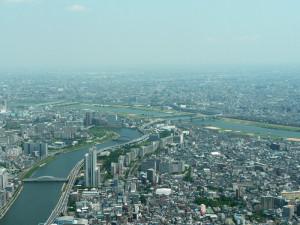 スカイツリー_眺め隅田川側