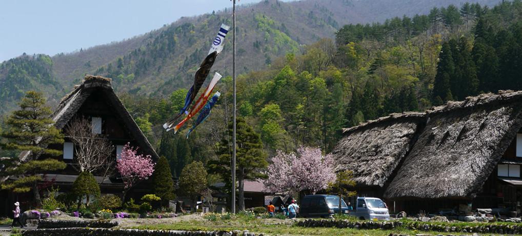 世界遺産の村:白川郷 散策