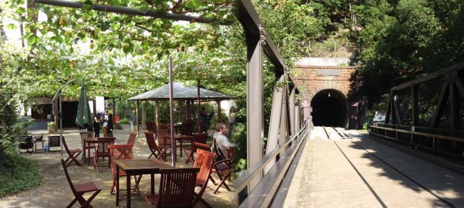 勝沼ぶどう園・トンネル遊歩道